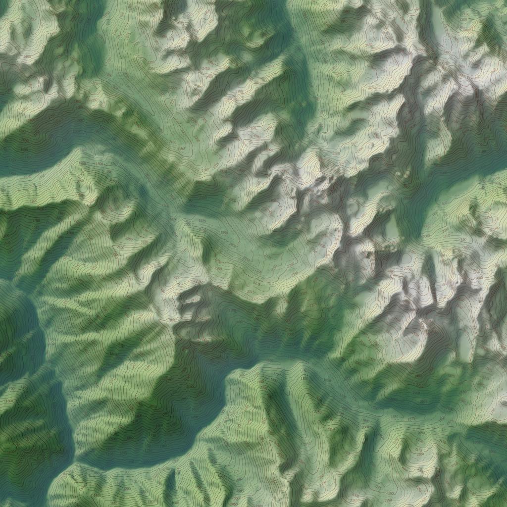 imagico.de relief rendering Maritime Alps