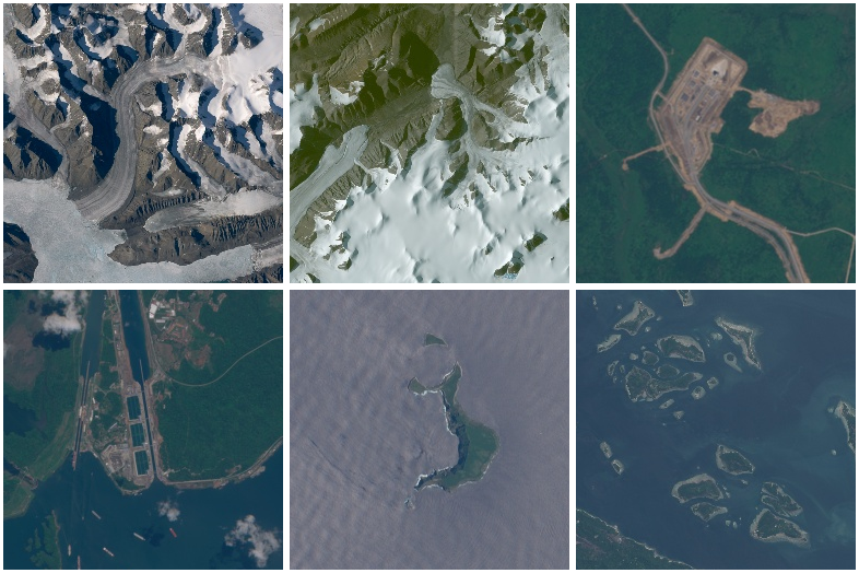 satellite image samples