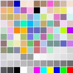 povray colors inc