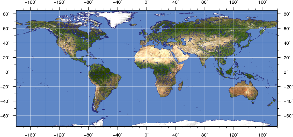earth map background